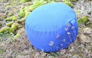 Sitzkissen-blau